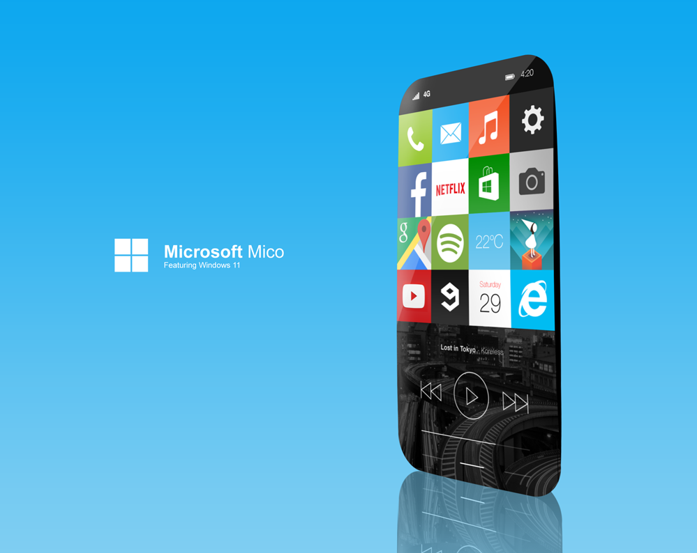 Experiments of Using Windows 11 in Mobile Phone